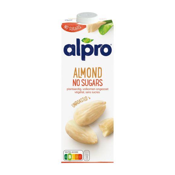 Alpro Amandeldrink ongeroosterd ongezoet product photo