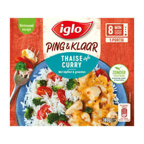 Iglo Ping&Klaar Thaise Curry product photo