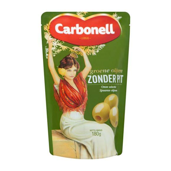 Carbonell Groene olijven zonder pit product photo