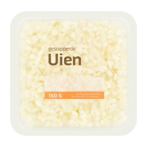 Uien gesnipperd product photo