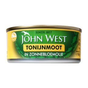 John West Tonijnmoot in zonnebloemolie product photo
