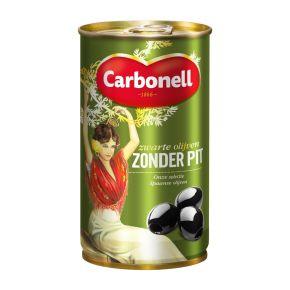 Carbonell Zwarte olijven zonder pit product photo