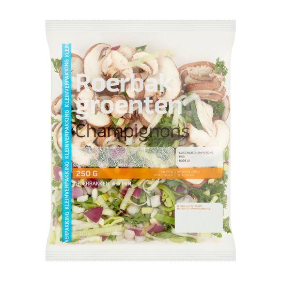 Champignons roerbakgroenten product photo