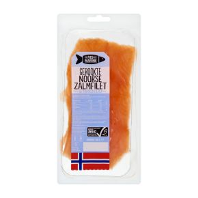 Gerookte Noorse zalm product photo