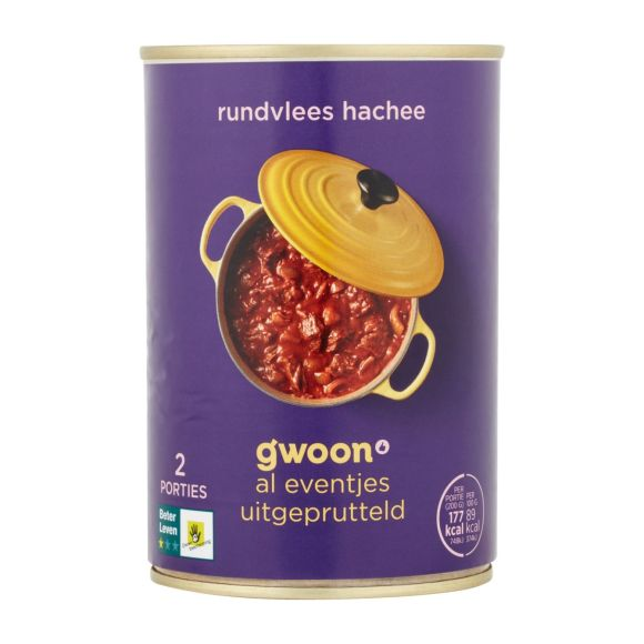g'woon Rundvlees hachee product photo