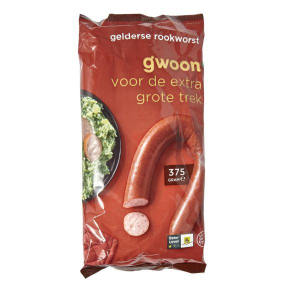 g'woon Gelderse rookworst product photo