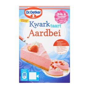 Dr. Oetker Kwarktaart Aardbei met bodem 420gr product photo