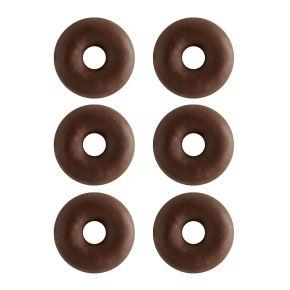 Mini donuts choco 6 stuks product photo