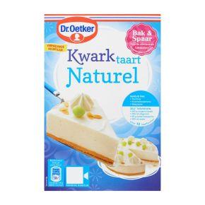 Dr. Oetker Kwarktaart Naturel met bodem 408gr product photo