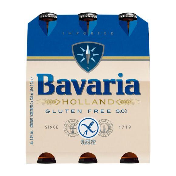 Bavaria Glutenvrij bier fles 3 x 33 cl product photo