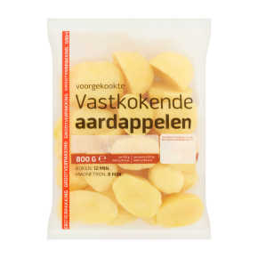 Kookaardappelen vast product photo
