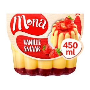 Mona Vanillepudding met Aardbeiensaus 450 ml Huls product photo