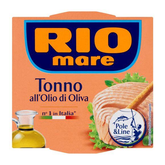 Rio Mare tonijnmoot in olijfolie Pole&line 2 x 80 gr product photo