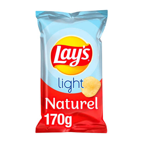 Lay's Light chips naturel product photo