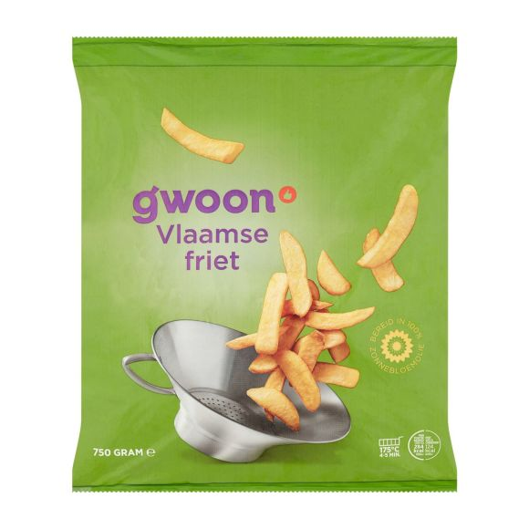 g'woon Vlaamse frites product photo
