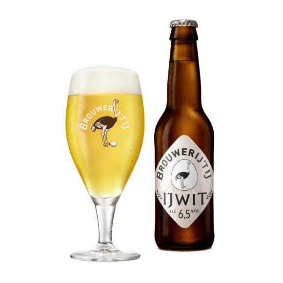 Brouwerij 't IJ IJwit Witbier fles 6,5% product photo