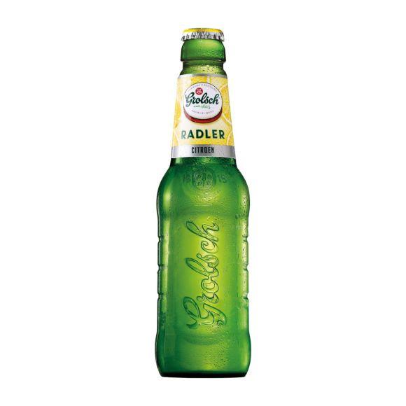 Grolsch Radler citroen bier product photo
