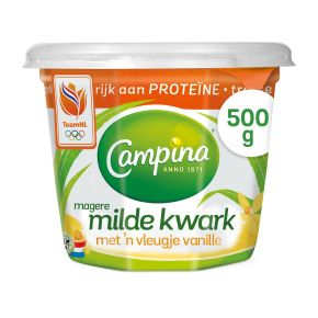 Campina Magere milde kwark vanille product photo