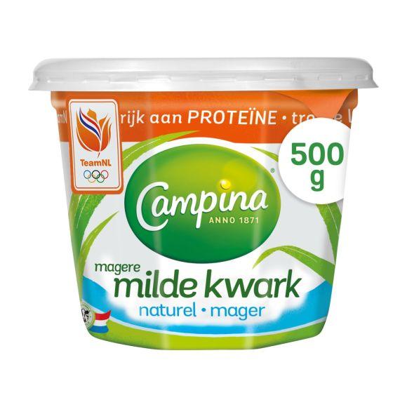 Campina Magere milde kwark naturel product photo