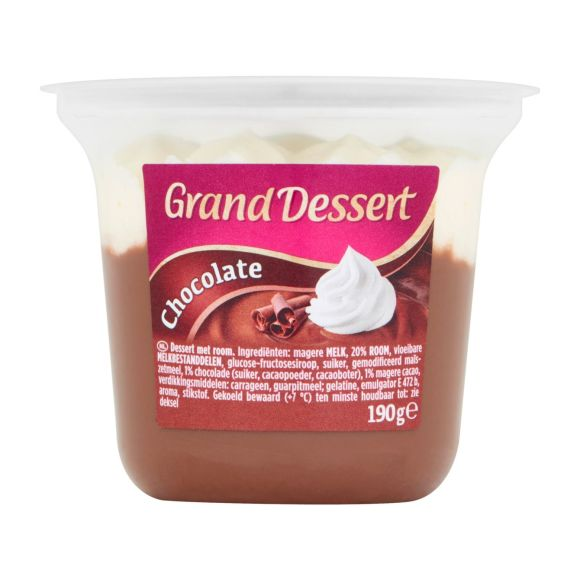Ehrmann Grand Dessert Choco 190 gram product photo
