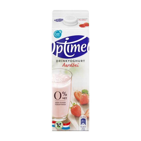Optimel Drinkyoghurt aardbei product photo