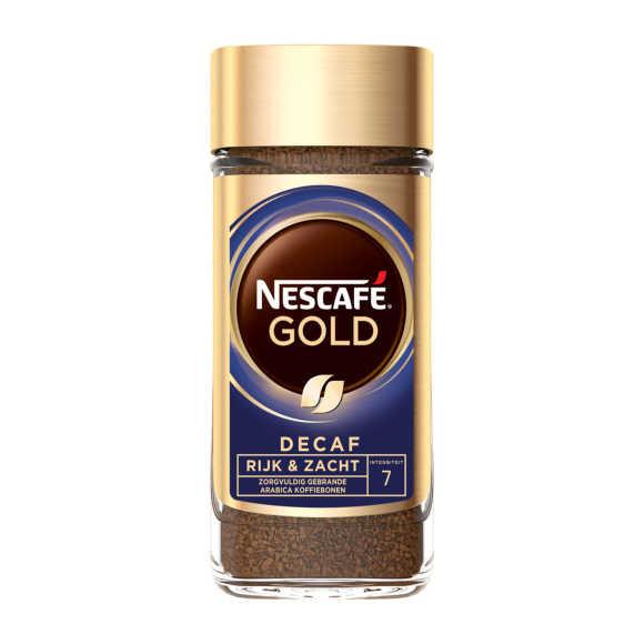 Nescafé Gold decaf oploskoffie product photo