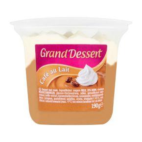 Ehrmann Grand Dessert Café au Lait 190 gram product photo