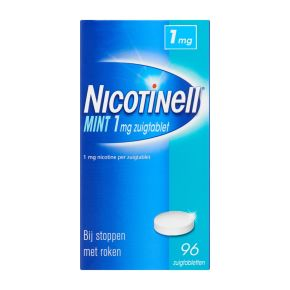 Nicotinell Mint zuigtabletten 1 mg product photo