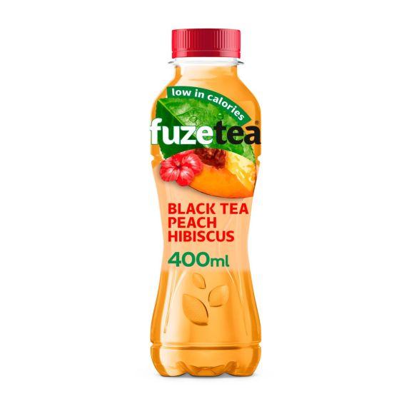 Fuze tea Black tea peach hibiscus product photo