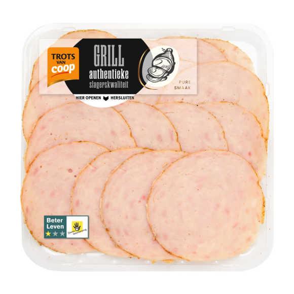Trots van Coop Authentieke kip grillworst product photo