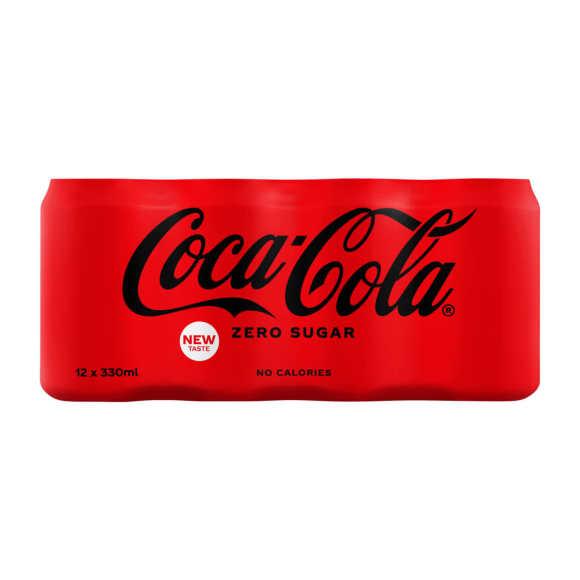 Coca-Cola Cola zero blikjes 12 x 330 ml product photo