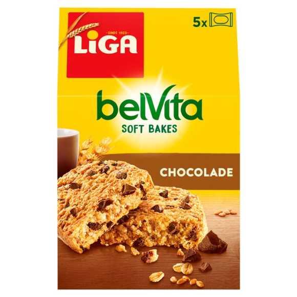 Liga BelVita Soft bakes chocolade koeken 5 stuks product photo