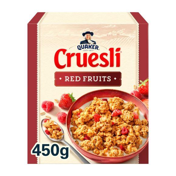 Quaker Cruesli rode vruchten product photo