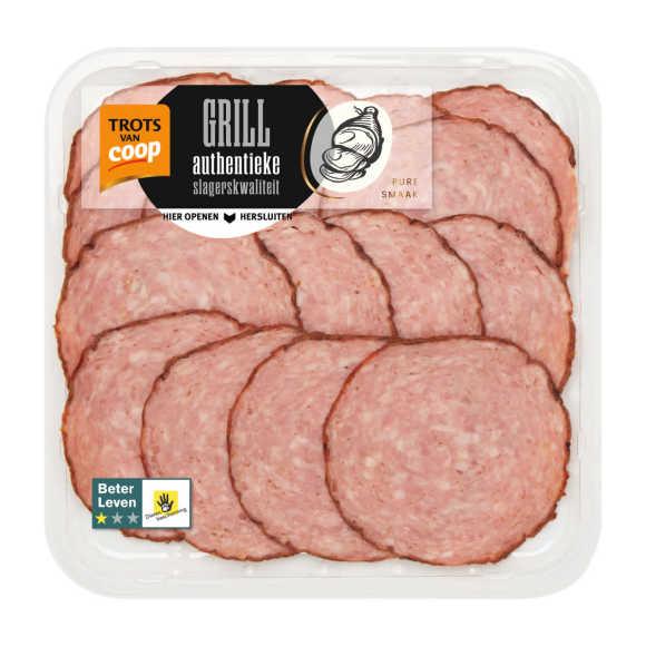 Trots van Coop Authentieke grillworst product photo