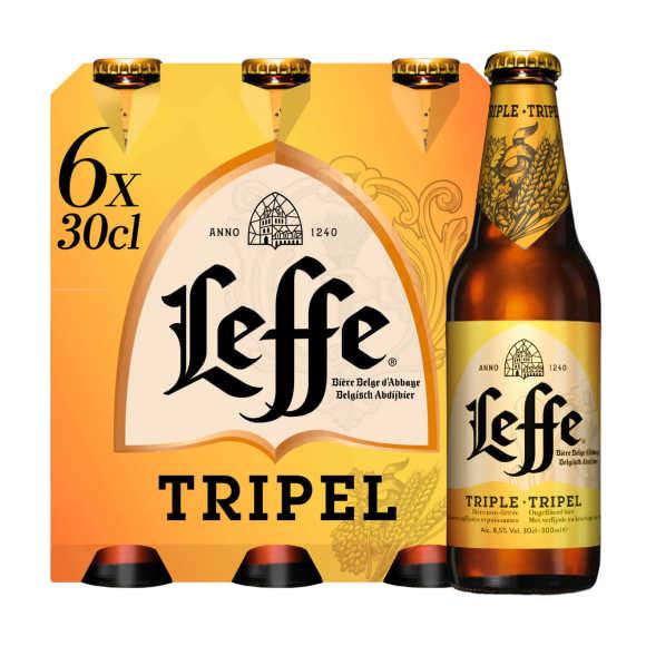 Leffe Tripel bier 4 x 33 cl product photo