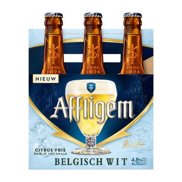 Affligem Belgisch wit bier fles 6x30cl product photo
