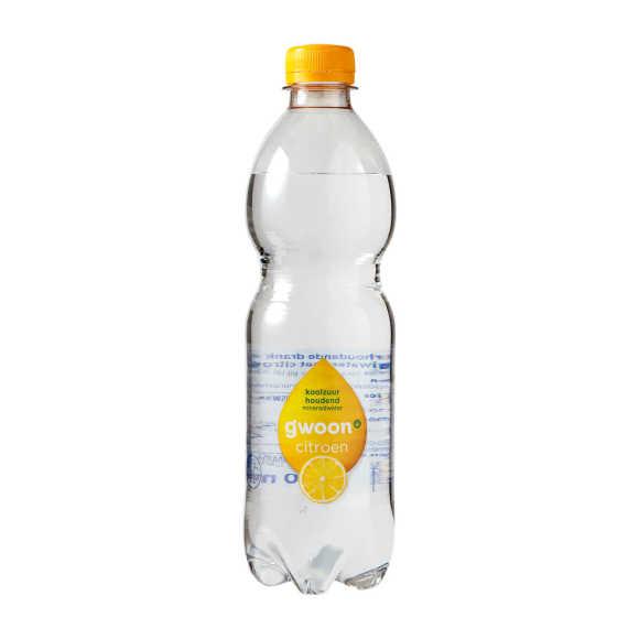 g'woon Mineraalwater koolzuurhoudend citroen product photo
