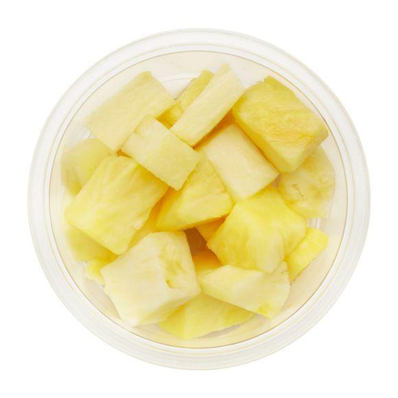 Ananas blokjes product photo