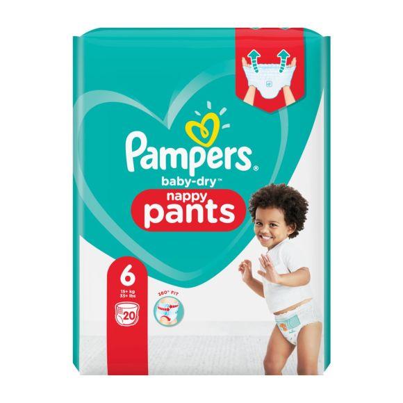 Pampers Baby-Dry Pants luierbroekjes maat 6, 15kg+ product photo