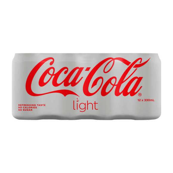 Coca-Cola Light 12 x 330 ml product photo