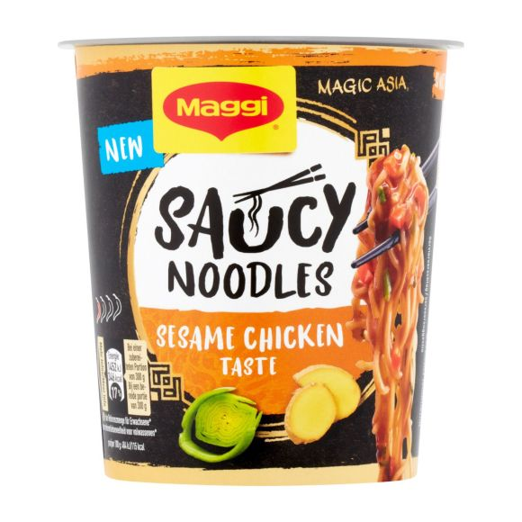 Maggi Saucy noodles sesame chicken product photo
