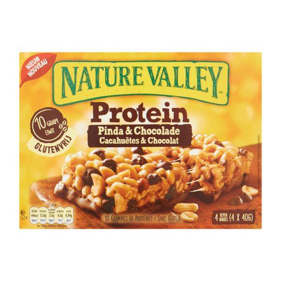 Nature protein pinda chocolade product photo