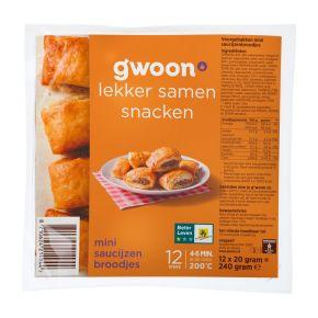 g'woon Mini saucijzenbroodjes product photo