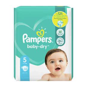 Pampers Baby-Dry luiers maat 5, 11-16kg product photo