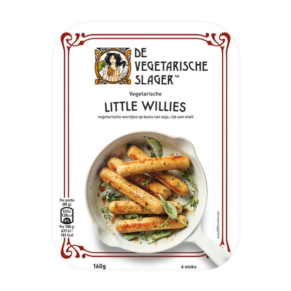 Vegetarische Slager Little willies product photo