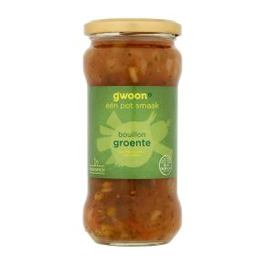 g'woon Bouillon met groente product photo