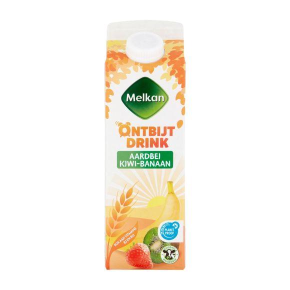 Melkan Aardbei kiwi drank product photo