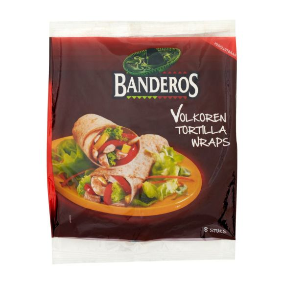 Banderos Volkoren tortilla wraps product photo