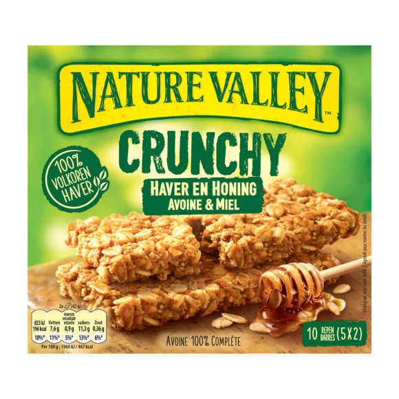 Nature Crunchy haver en honing product photo