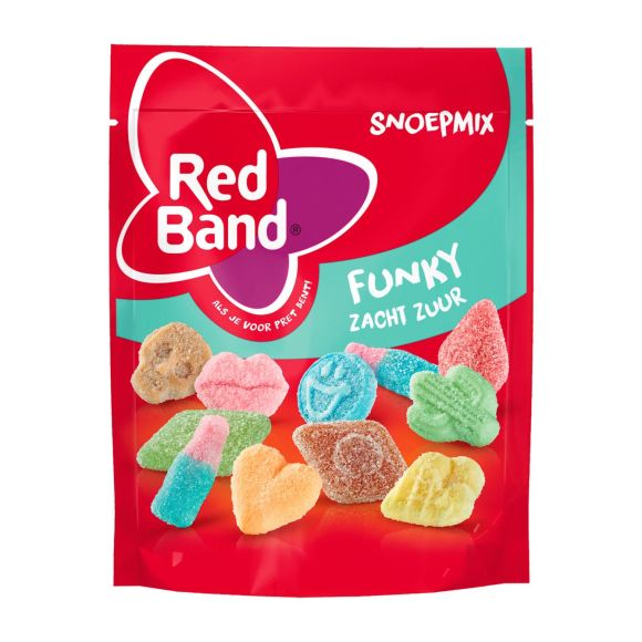 Red Band Snoepmix funky product photo